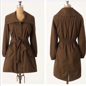 Daughters of Liberation Anthropologie Trench Coat